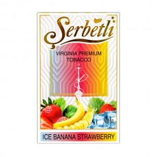 Табак Serbetli Лед Банан Клубника - 50 грамм