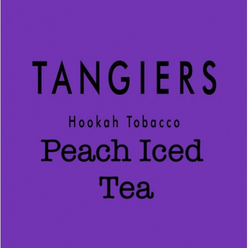 Табак Tangiers Burley Peach Iced Tea 90 (Персиковый чай со льдом) - 250 грамм