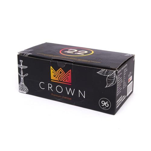 Уголь кокосовый Crown 1кг (96 шт)