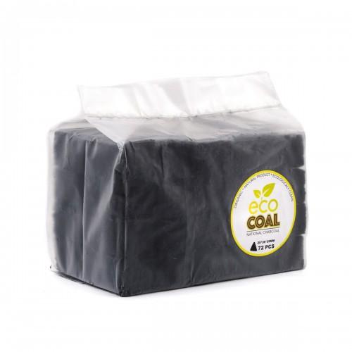 Уголь кокосовый ECO 1кг (72 шт)