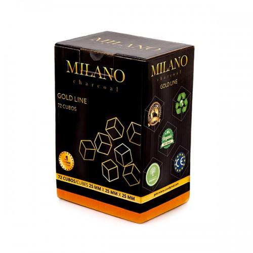Уголь кокосовый Milano Gold 1кг (72 шт)